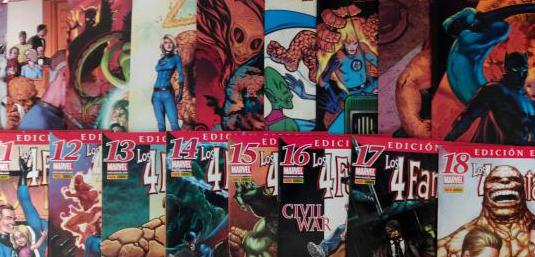 Los 4 fantásticos completa 18 cómics