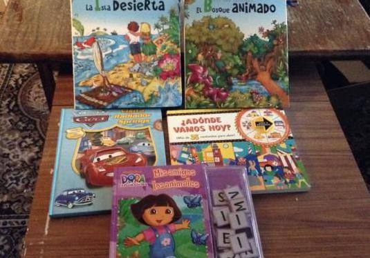 Lote de libros infantiles didacticos