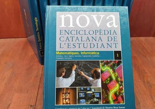 Nova enciclopedia de l'estudiant 11 tomos