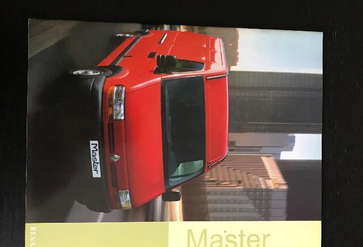 Renault master furgoneta furgon - catalogo publicidad