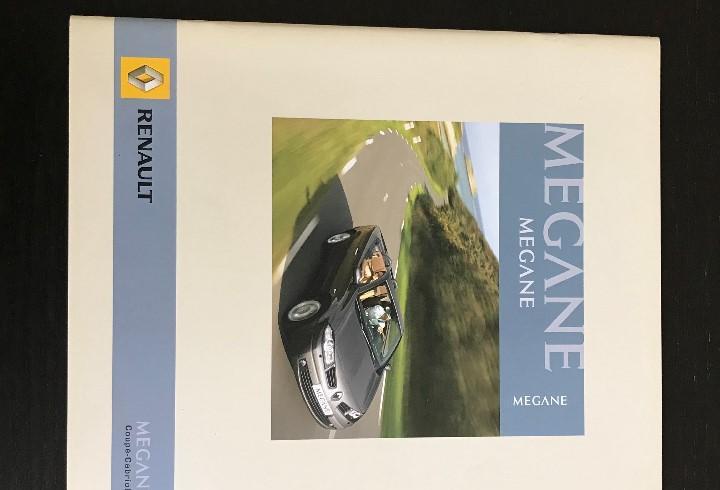 Renault megane coupe cabriolet - catalogo publicidad