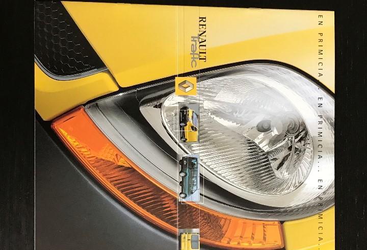 Renault trafic furgoneta furgon - catalogo publicidad