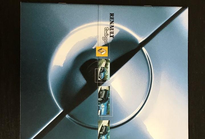 Renault twingo authentique expression - catalogo publicidad