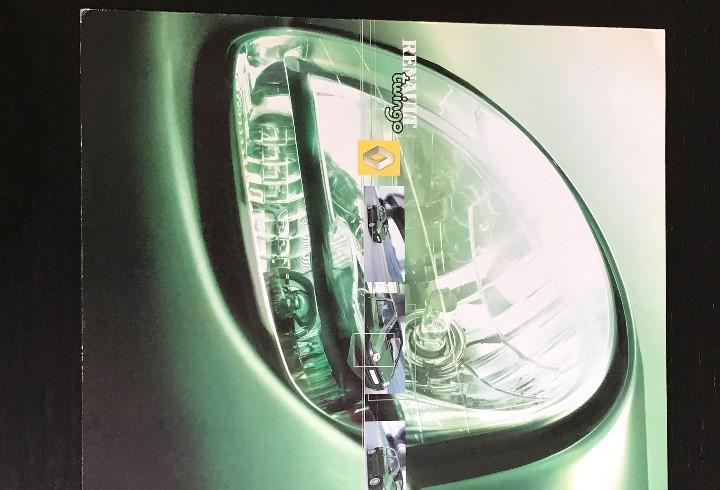 Renault twingo - catalogo publicidad original - en español
