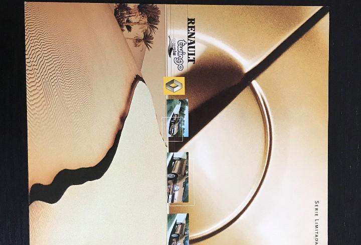Renault twingo oasis serie limitada - catalogo publicidad