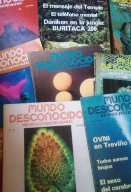 Revistas mundo desconocido