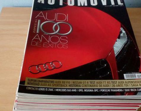 Revistas automovil años 2006 al 2009