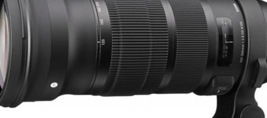 "Sigma 120-300 mm f2.8 dg os hsm ""sport..."