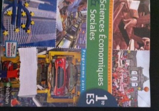 Sciences economiques & sociales 1e es : format com