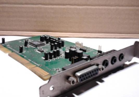 Tarjeta de sonido sound blaster vibra16 mod. ct418