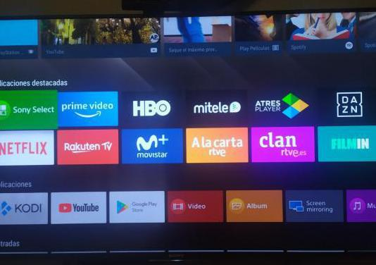 Tv sony 49x8308 con 4k android