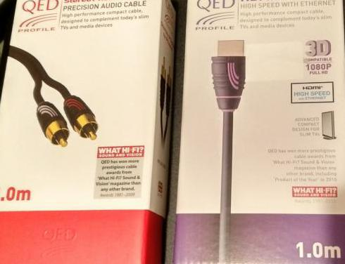 Cable amplificador qed profile