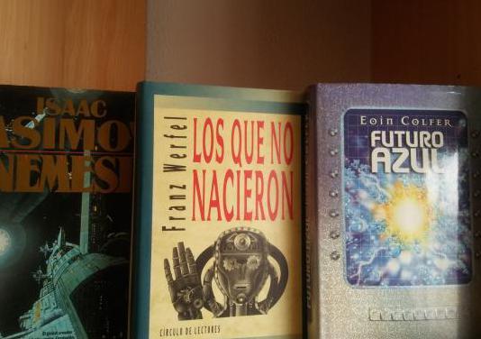 Ciencia ficción tres títulos sueltos