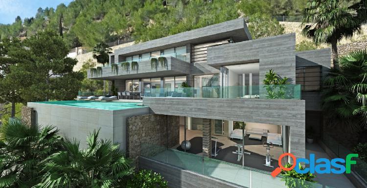 Proyecto - Villa moderna con piscina privada y maravillosas vistas al mar en Cumbre del Sol