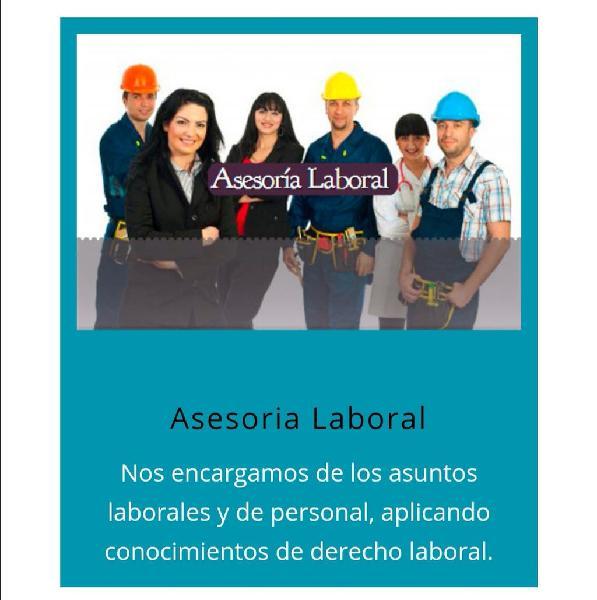 Asesoría jurídico - laboral online