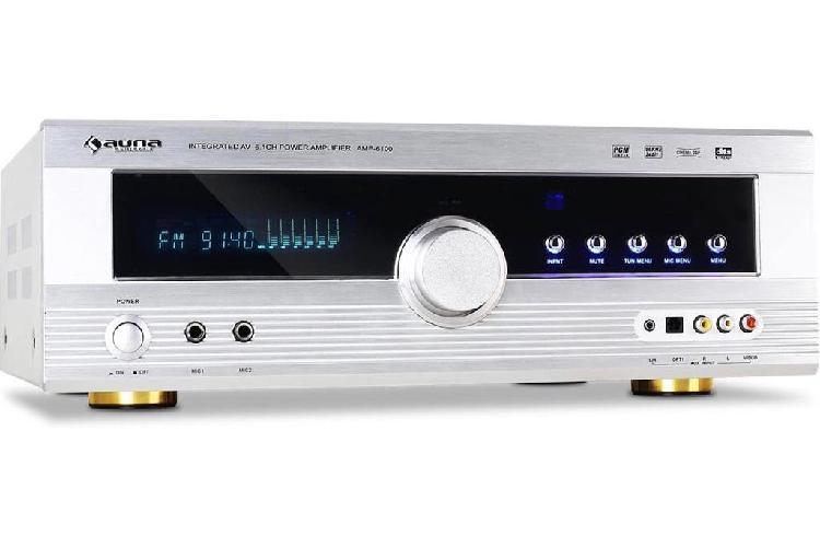 Amplificador auna amp-6100 gama alta