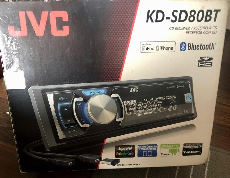 Auto radio cd bluetooth jvc