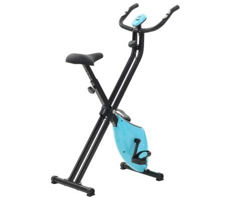 Bicicleta estática magnética x con pulsómetro