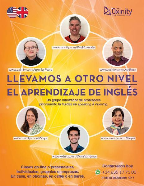 Curso intensivo de ingles online