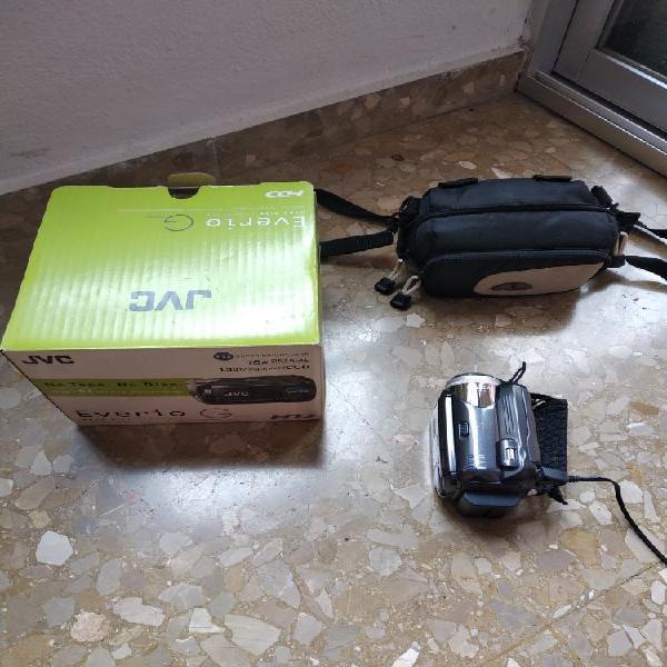 Camara de video jvc con disco duro