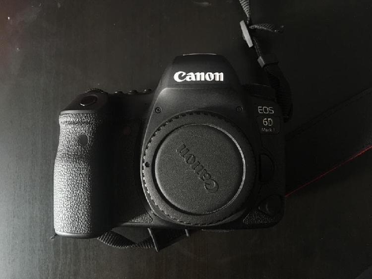 Canon 6d mark ii con garantia y factura