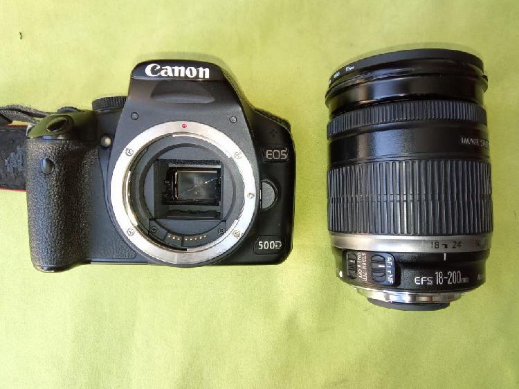 Canon eos 500d con accesorios