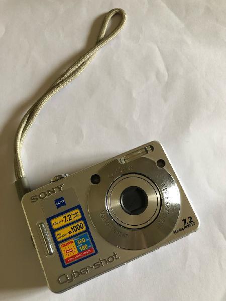 Cámara fotos digital sony 7.3 mega pixel