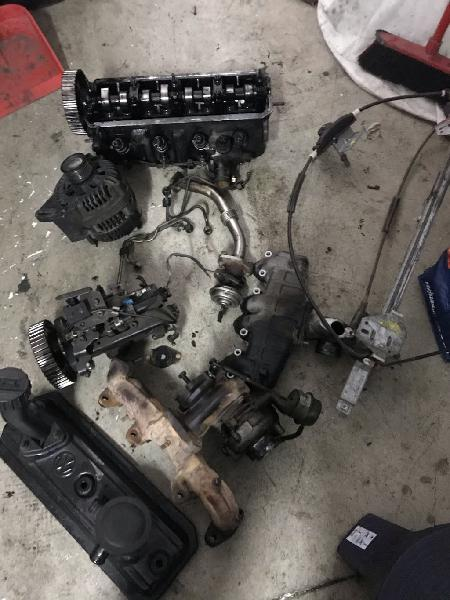 Despiece motor vw t4 abl