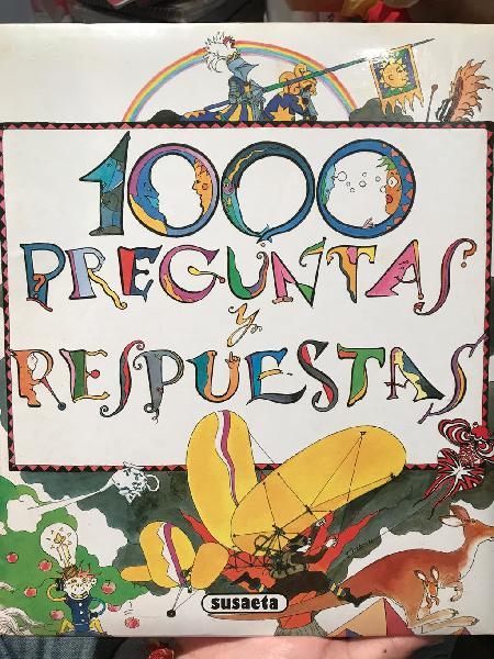 Libro 1000 preguntas y respuestas de susaeta