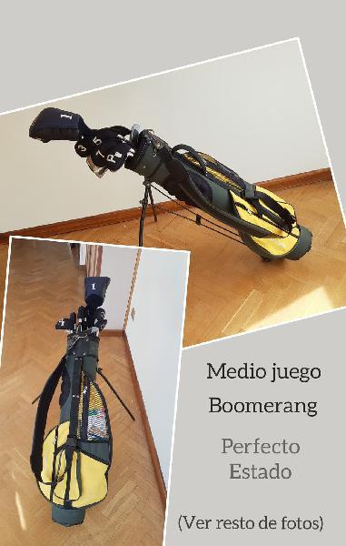Medio juego de golf boomerang