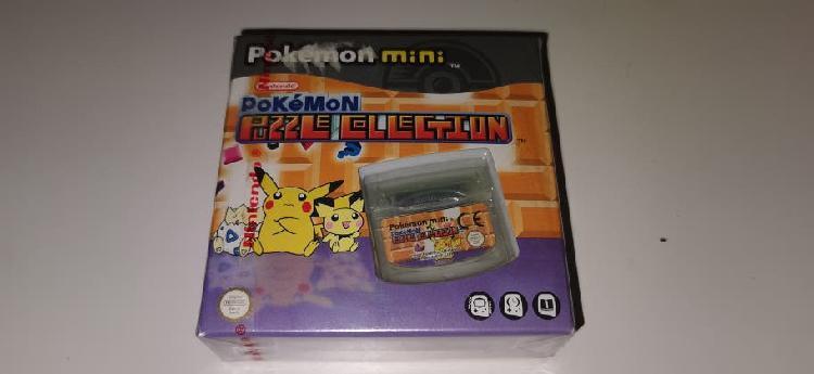 Pokémon puzzle collection mini nuevo precintado