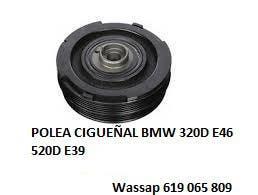 Polea cigueñal bmw 320d e46 520d e39