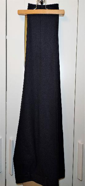 Pantalón de vestir azul marino zara