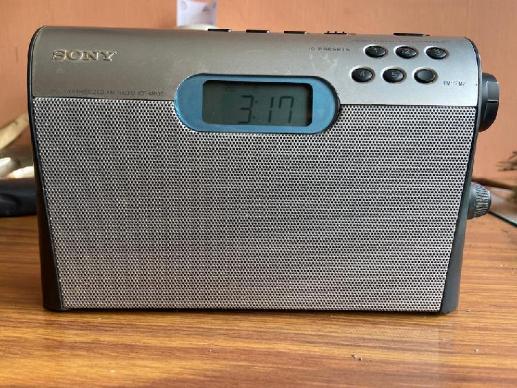 Radio sony despertador