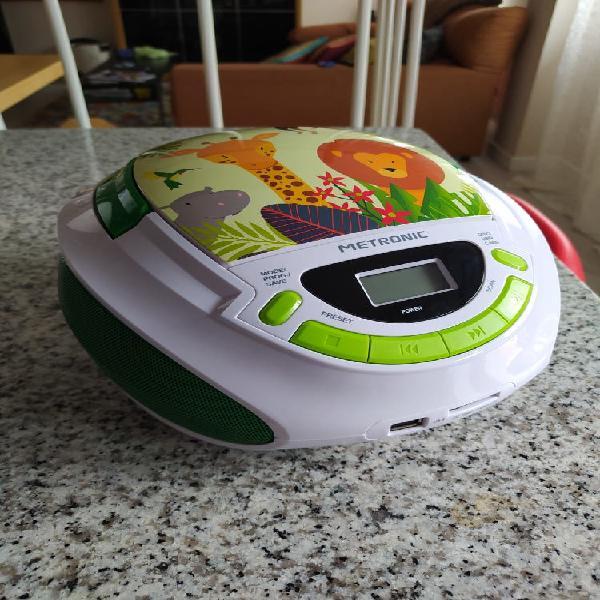 Radio cd portatil para niños