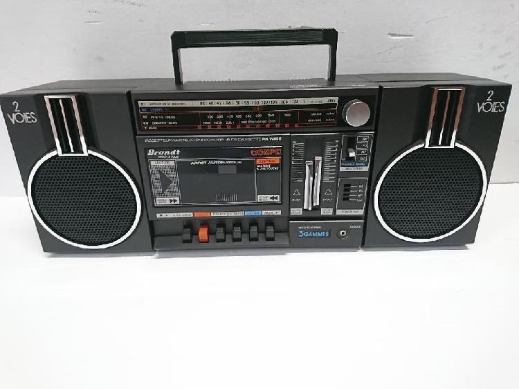Radio cassette brandt rk728s
