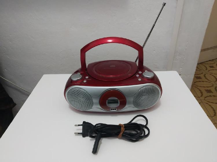 Radio cassette con usb y cd
