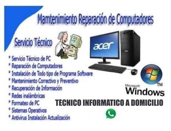 Servicios informáticos pc