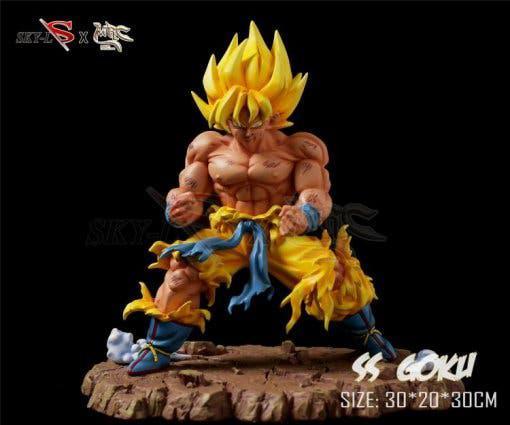 Sky x mrc - goku battle damaged - dragon ball z