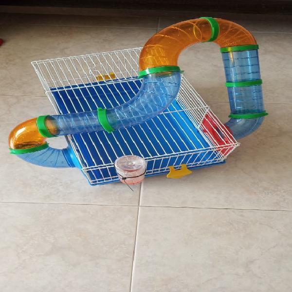 Jaula para hamster o roedor