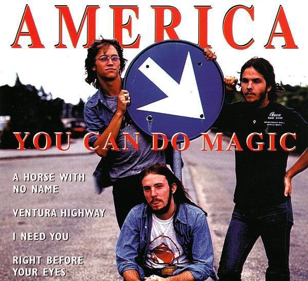 America. you can do magic. cd
