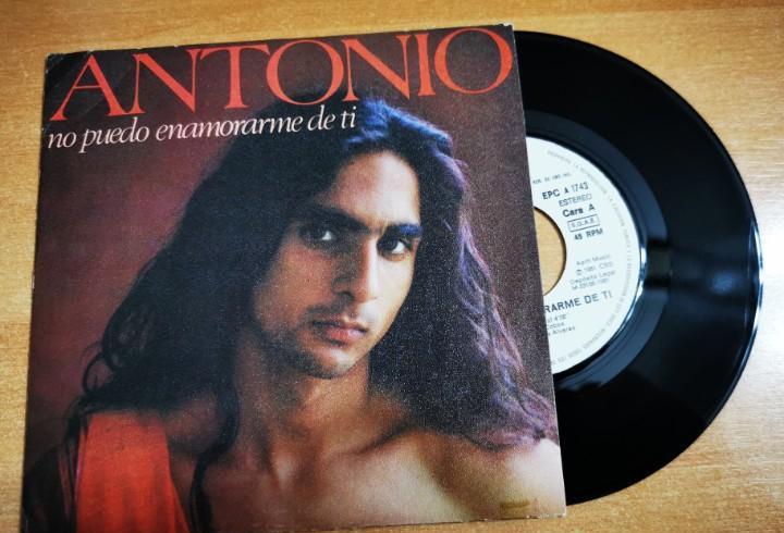 Antonio flores no puedo enamorarme de ti single vinilo promo