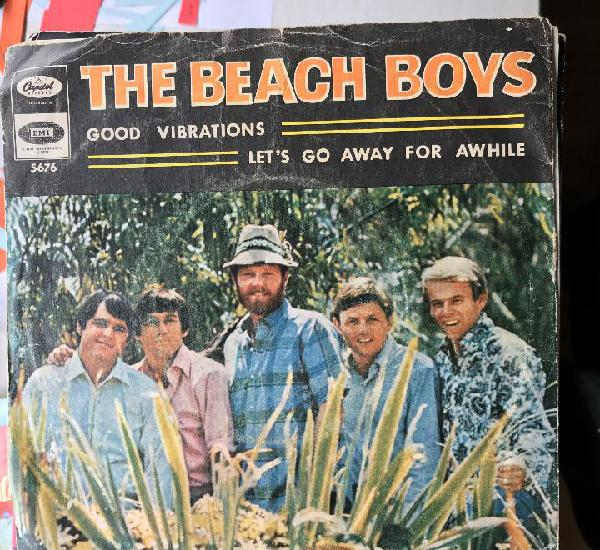 Beach boys - good vibrations - single capitol spain 1966