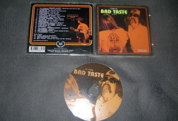Cd bad taste-this is...volume 2 envio gratuito
