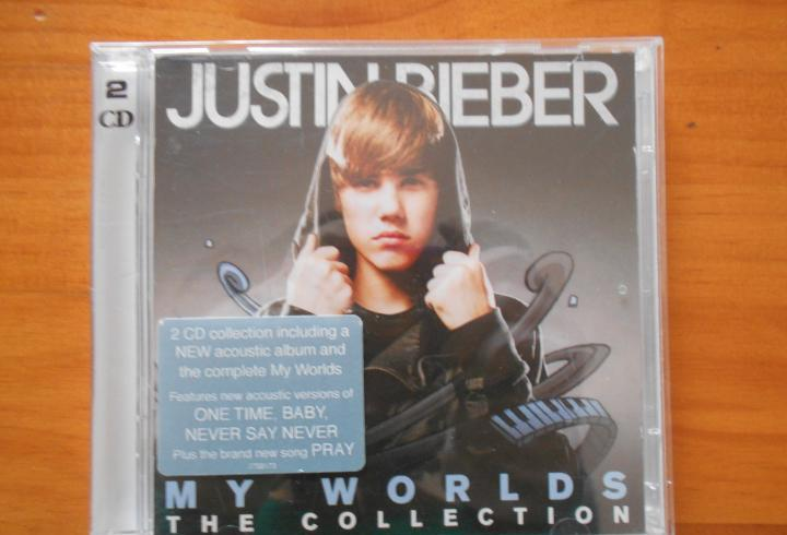 Cd justin bieber - my worlds - the collection (2 cd's) (w5)