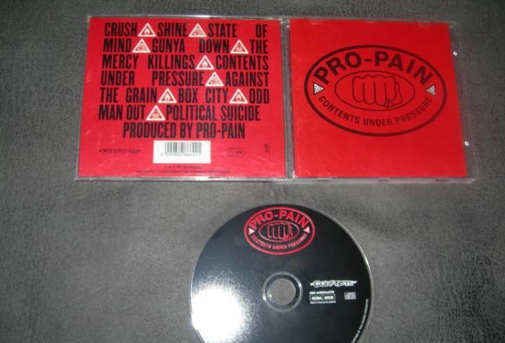 Cd pro-pain-contents under pressure envio gratuito