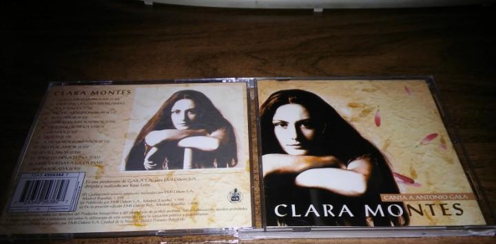 Clara montes - canta a antonio gala