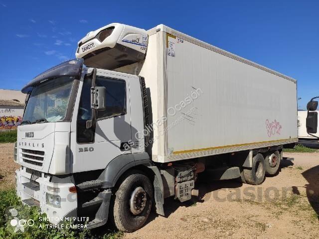 Camión iveco frigorífico stralis 350 rampa elevadora