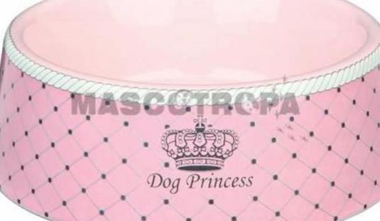 Comedero cerámica dog princess desde 7,99€ ..