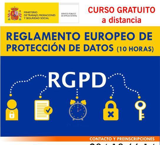 Curso online de reglamento europeo de protección de datos